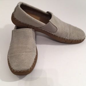 Robert Wayne men's shoes slip-on 11.5 D Canvas